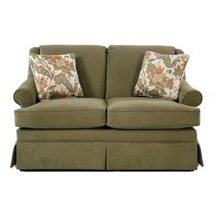 Cozy Life Audrey Traditional Skirted Loveseat