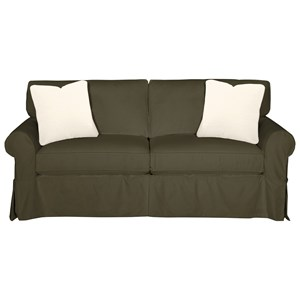 Craftmaster 9228 Sleeper Sofa w/ Innerspring Mattress