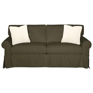 Craftmaster 9228 Sleeper Sofa w/ Innerspring Mattress