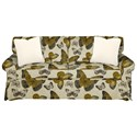 Craftmaster 9228 Sleeper Sofa w/ Innerspring Mattress - Item Number: 922850-FLUTTERFLY-02