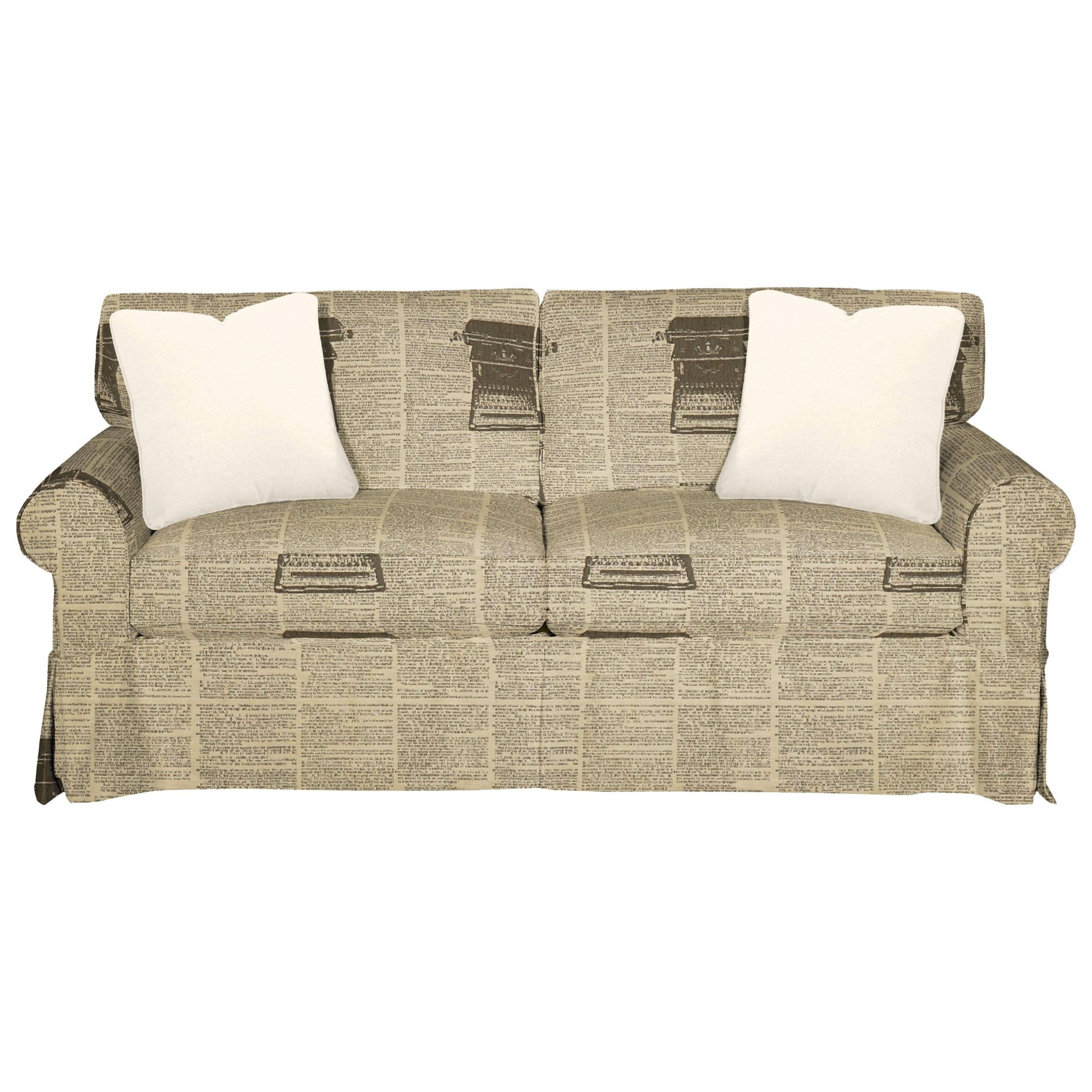 9228 Sleeper Sofa w/ Innerspring Mattress by Craftmaster at Baer's Furniture