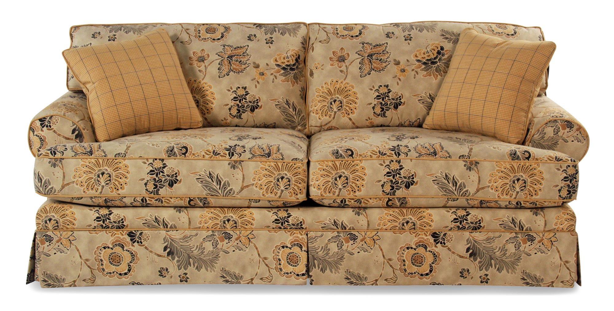 Cozy Life Contessa Casual Skirted Sofa - Item Number: 935450-CONTESSA02
