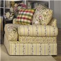 Cozy Life 9535 Skirted Chair - Item Number: 953510-LEILA COMBO