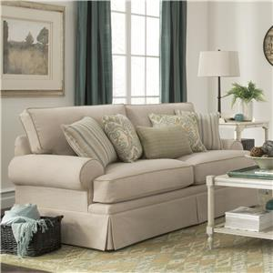 Craftmaster 9535 Skirted Stationary Sofa