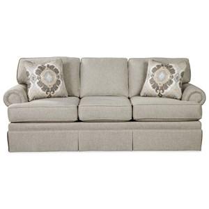 Queen Sleeper Sofa w/ MemoryFoam Mattress