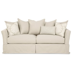 2 Seat Sofa with Memory Foam Sleeper