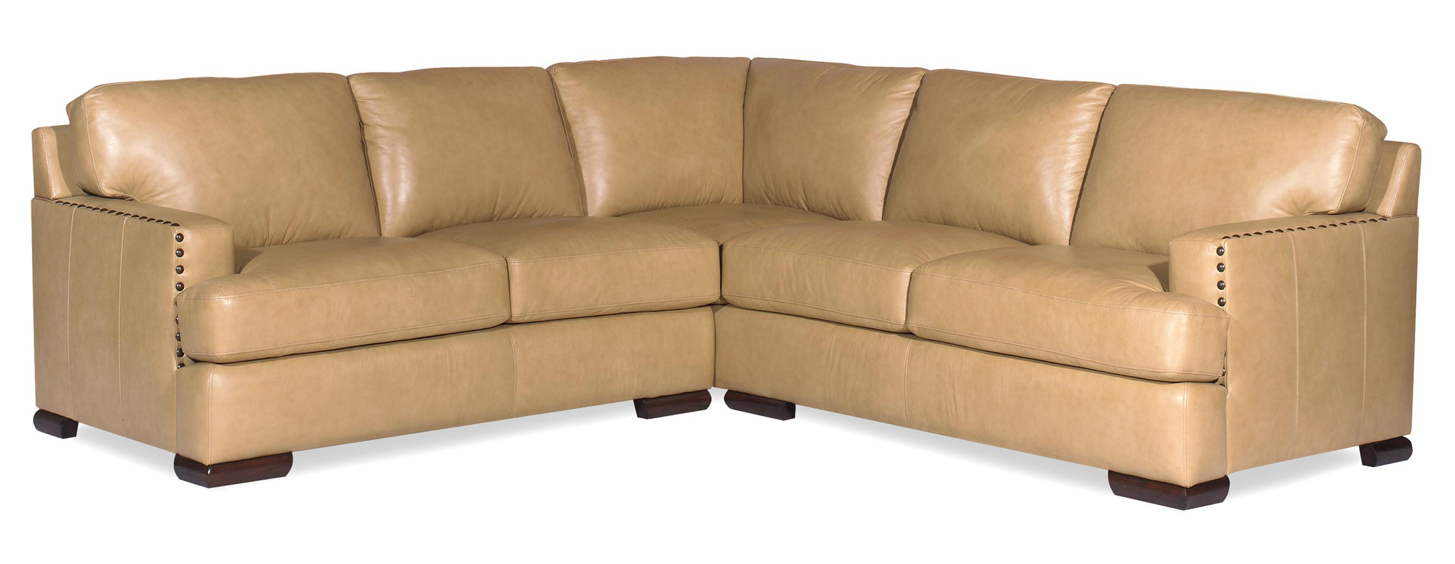 Craftmaster Allure Contemporary Two Piece Sectional Sofa with