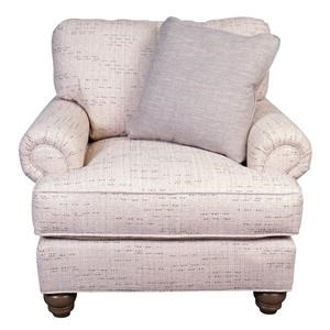 Paula Deen Belle Chair with accent pillow