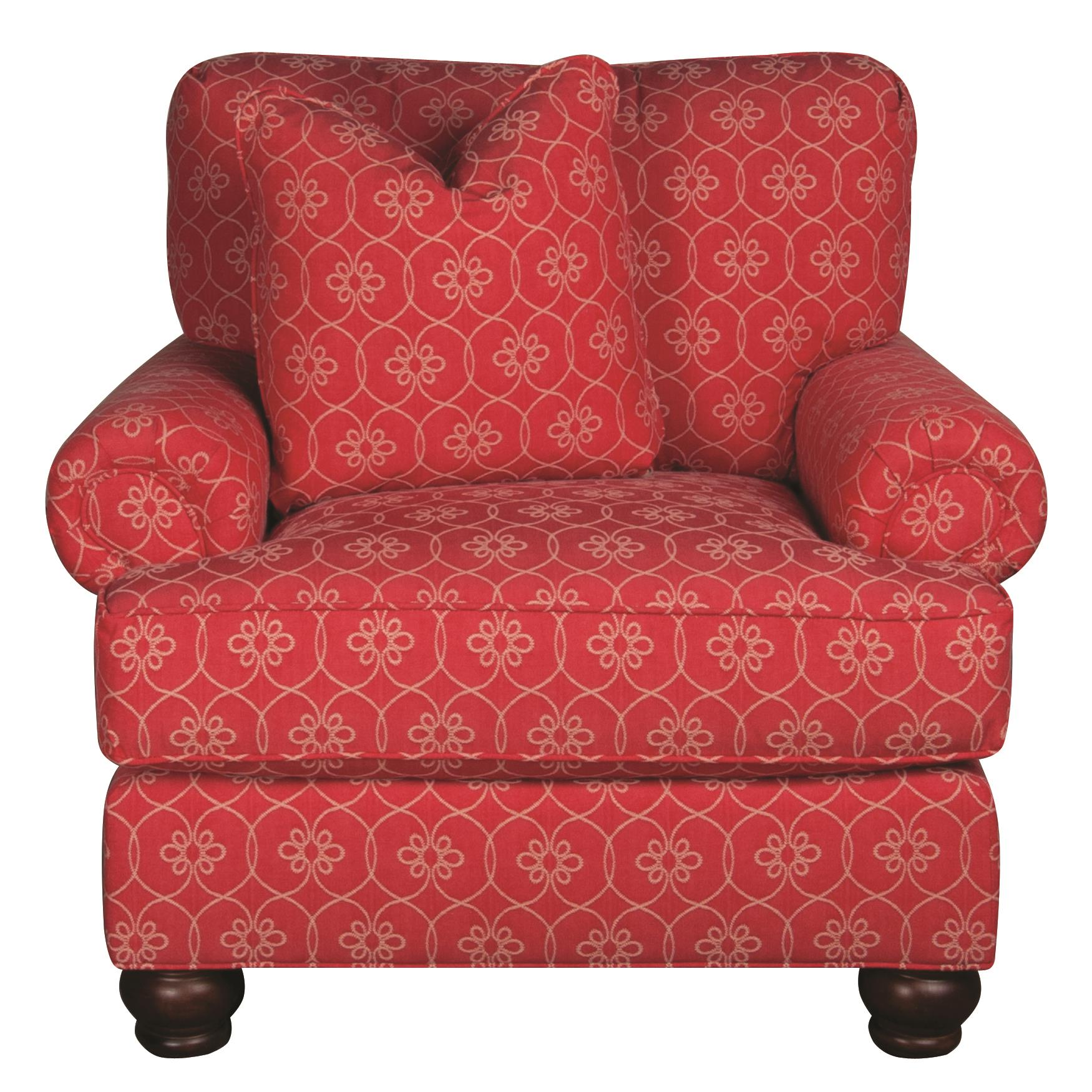 Morris Home Furnishings Belle Belle Chair - Item Number: 448118569