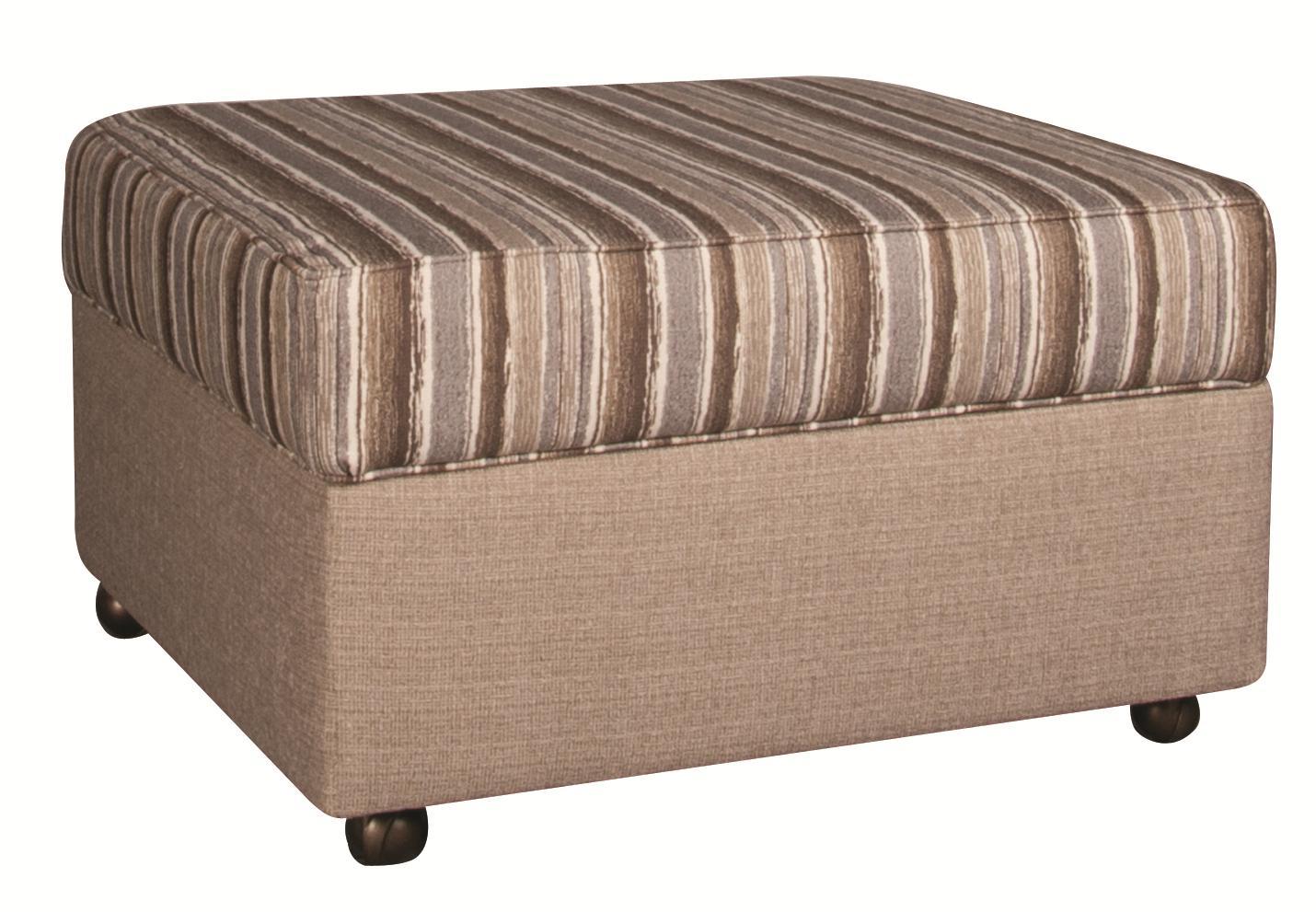 Morris Home Furnishings Bjorn Bjorn Storage Ottoman - Item Number: 145820610