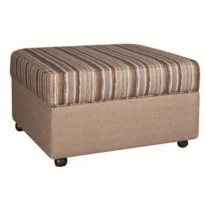 Morris Home Furnishings Bjorn Bjorn Storage Ottoman
