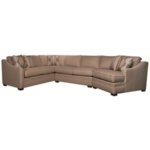 Morris Home Furnishings Bjorn Bjorn 3-Piece Sectional