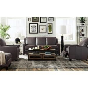 Bjorn 100% Leather Power Reclining Sofa