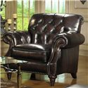 Craftmaster Brighton Upholstered Chair with Rolled Arms and Tufting - L287710