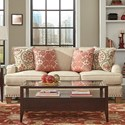Craftmaster C9 Custom Collection Custom 3 Seat Sofa - Item Number: C954450-TEBO-10