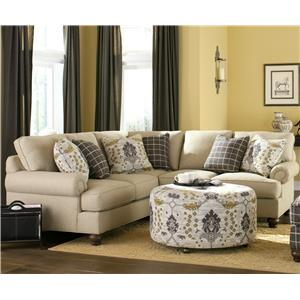 Craftmaster C9 Custom Collection <b>Custom</b> 2 Pc Sectional Sofa
