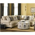 Craftmaster C9 Custom Collection <b>Custom</b> 2 Pc Sectional Sofa - Item Number: C9XXX31+C9XXX59-LIBERATION-10
