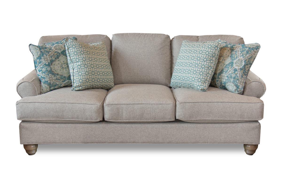 Craftmaster Indeed Indeed Sofa - Item Number: C921350 INDEED-10 SANDMOOR-21 SANTI