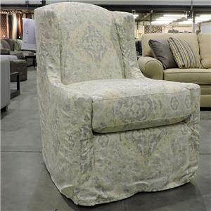 Craftmaster Clearance Slip Covered Chair