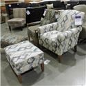Craftmaster Clearance Chair w/ Ottoman - Item Number: 042410579