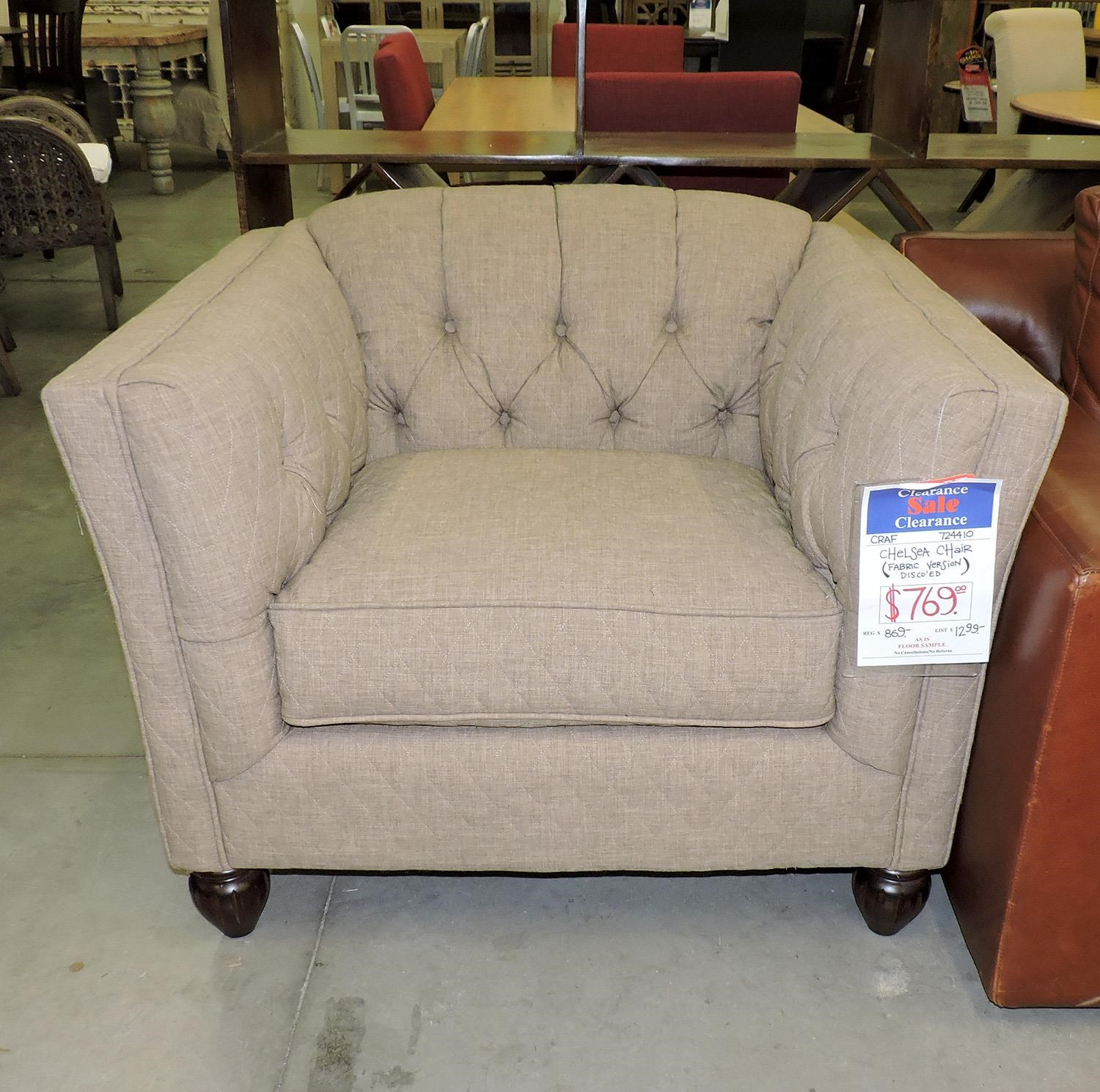 Craftmaster Clearance Chelsea Chair - Item Number: 140731391