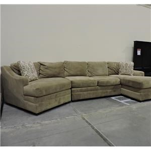 Craftmaster Clearance 3 Piece Sectional Sofa