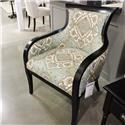 Craftmaster Clearance Wood Trim Chair - Item Number: 384355671