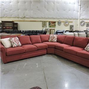 Craftmaster Clearance Tasha Sectional Sleeper  Sofa