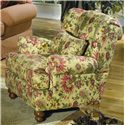 Cozy Life Accent Chairs Wingback Chair - Item Number: 016810-TIZIANA-03