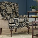 Cozy Life Accent Chairs Wing Chair - Item Number: 017510-HOWARD+ENGELMAN