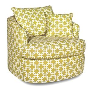 Craftmaster Accent Chairs Swivel Chair