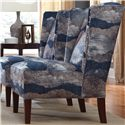 Cozy Life Accent Chairs Wing Chair - Item Number: 026510-PANORAMA-23