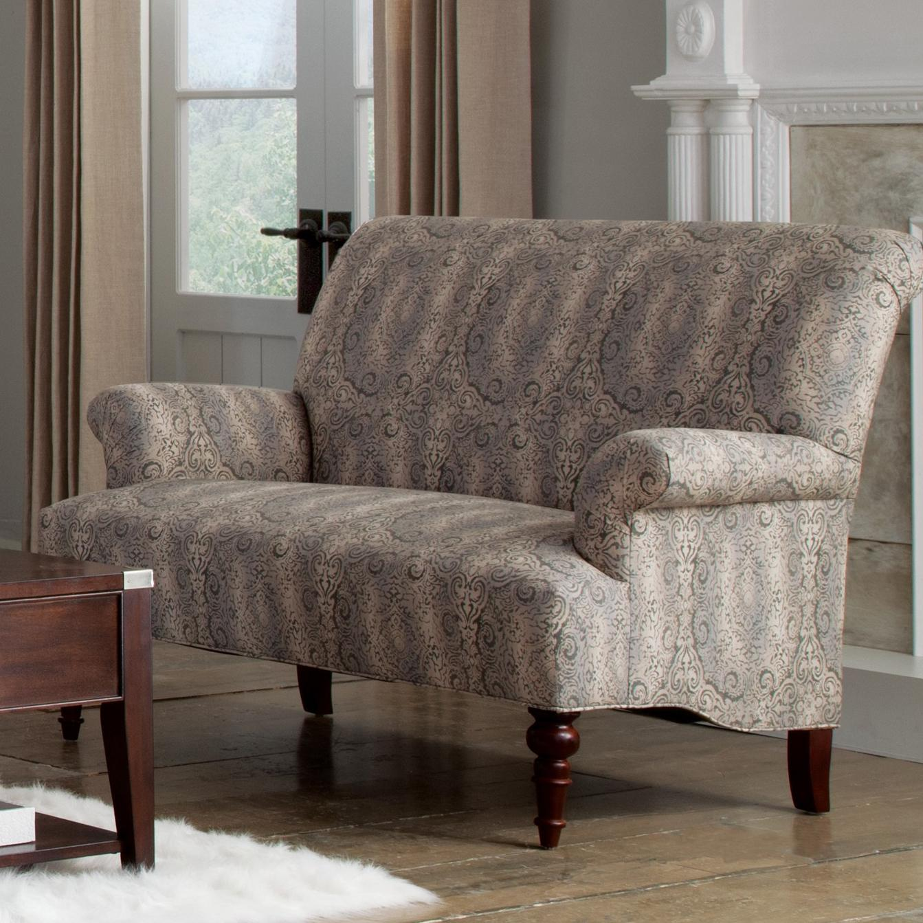 Strange Craftmaster Accent Chairs Traditional Settee With Rolled Inzonedesignstudio Interior Chair Design Inzonedesignstudiocom