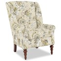 Craftmaster Accent Chairs Modified Wing Back Chair - Item Number: 030410-ALMADA-15