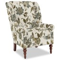 Craftmaster Accent Chairs Modified Wing Back Chair - Item Number: 030410-ASHWOOD-21