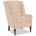 Craftmaster Accent Chairs Modified Wing Back Chair - Item Number: 030410-BENGIE-10