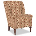 Craftmaster Accent Chairs Modified Wing Back Chair - Item Number: 030410-BENSALEM-26