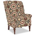 Craftmaster Accent Chairs Modified Wing Back Chair - Item Number: 030410-CANDY SHOP-26