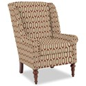 Craftmaster Accent Chairs Modified Wing Back Chair - Item Number: 030410-CHIMAYO-26