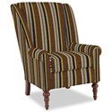 Craftmaster Accent Chairs Modified Wing Back Chair - Item Number: 030410-CIMARRON-10