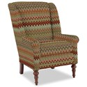 Craftmaster Accent Chairs Modified Wing Back Chair - Item Number: 030410-DESANTIS-26