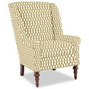 Craftmaster Accent Chairs Modified Wing Back Chair - Item Number: 030410-DIAMOND-03