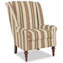 Craftmaster Accent Chairs Modified Wing Back Chair - Item Number: 030410-FORZANDO-26