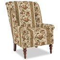 Craftmaster Accent Chairs Modified Wing Back Chair - Item Number: 030410-HENSHAW-10