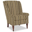 Craftmaster Accent Chairs Modified Wing Back Chair - Item Number: 030410-HIGHLIFE-41