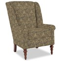 Craftmaster Accent Chairs Modified Wing Back Chair - Item Number: 030410-HOLLOWAY-23