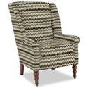 Craftmaster Accent Chairs Modified Wing Back Chair - Item Number: 030410-JITTERBUG-41