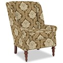 Craftmaster Accent Chairs Modified Wing Back Chair - Item Number: 030410-JULIET-10