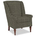 Craftmaster Accent Chairs Modified Wing Back Chair - Item Number: 030410-KERRY-45