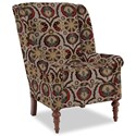 Craftmaster Accent Chairs Modified Wing Back Chair - Item Number: 030410-KITSUNE-10